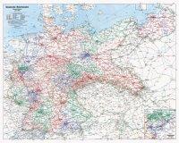 Übersichtskarte. Reichsbahndirektionen Deutsche Reichsbahn 1938