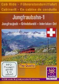 Im Führerstand. Jungfraubahn 1, 1 DVD-Video