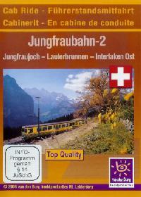 Im Führerstand. Jungfraubahn 2, 1 DVD-Video