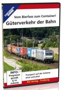 Vom Bierfass zum Container - Güterverkehr bei der Bahn, 1 DVD-Video